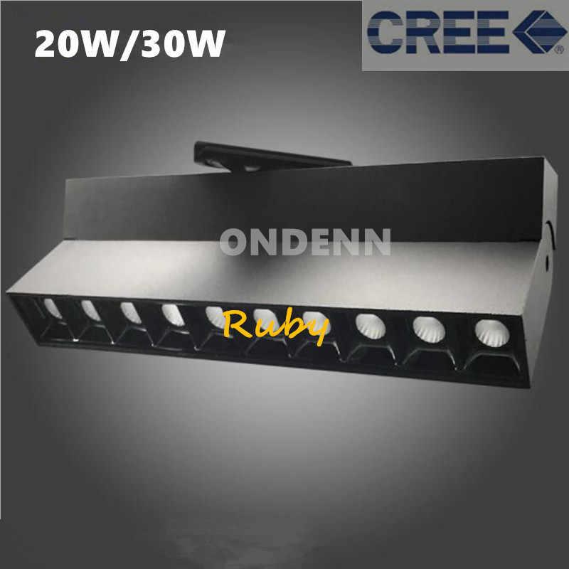 عكس الضوء طوي LED أضواء المسارات كري 5x2 W 5x3 W 10x2 W 10x3 W بقيادة الأضواء السكك الحديدية المسار مصابيح المنزل إضاءة داخلية 5 رئيس 10 رؤساء