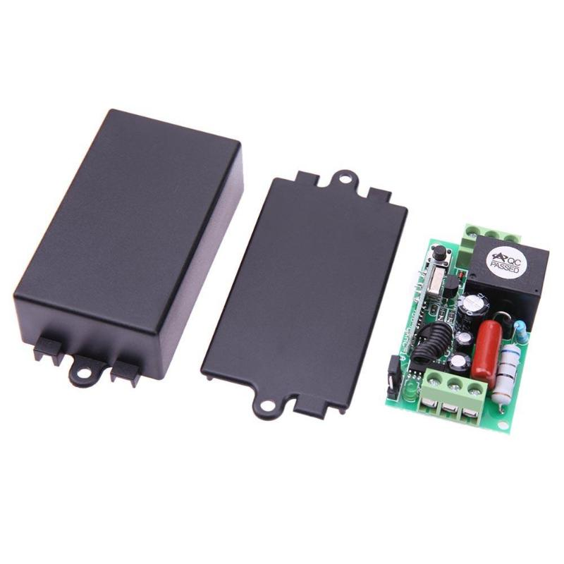 Ak-rk01s-220-a Ac 220v 1ch 315mhz 433mhz Wireless Remote Control Switch For Lamp Electric Door And Window Lifting Equipment Rich In Poetic And Pictorial Splendor
