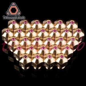 Image 3 - Trianglelab MK8 rubi bico 1.75 MILÍMETROS Compatível com especial de alta temperatura materiais PEEK PEI PETG ABS NYLON etc bocal ruby