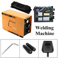 220V Portable MIG TIG Welder Inverter 200A ARC Welding Machine IGBT Copper Core Household Electric Welders Welding Equipment