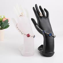 Model Hands Jewelry Display Simple Resin Elegant Stand Holder Hand Finger Jewelry Chain Ring Bracelet Holder Wholesale