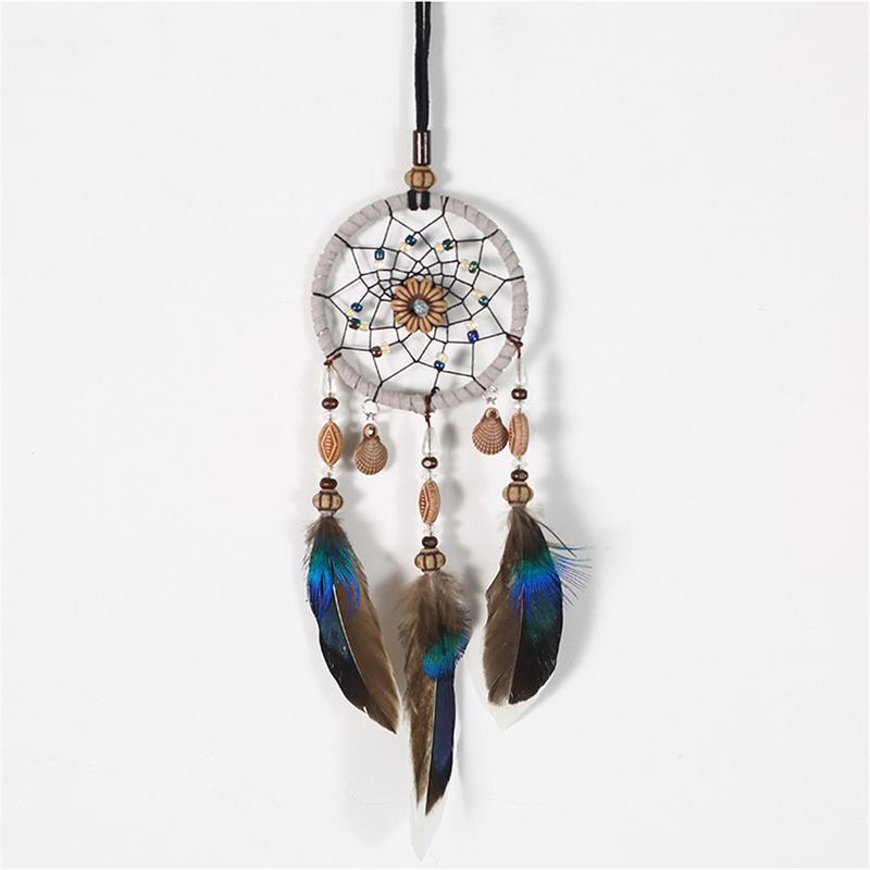 Home Car Decoration Pendant Festival Birthday Gift Home Decoration Manual Dream Catcher Wind Chimes