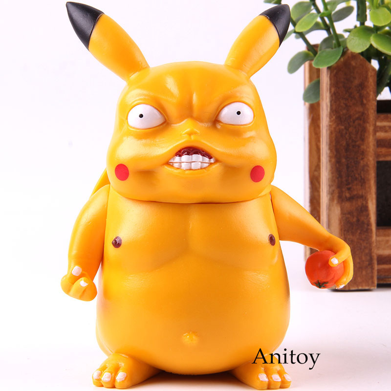 Anime Cartoon Game Freak Wretched Pikachu Action Figure Collection Model Toys 11cmAnime Cartoon Game Freak Wretched Pikachu Action Figure Collection Model Toys 11cm