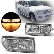 Пара противотуманная фара дальнего света для Toyota Land Cruiser 100 Lc100 1998 1999 2000 2001 2002 2003 2004 2005 2006 2007 Hdj100