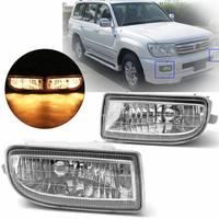 Pair Fog Lamp Fog Light Driving Lamp For Toyota Land Cruiser 100 Lc100 1998 1999 2000 2001 2002 2003 2004 2005 2006 2007 Hdj100