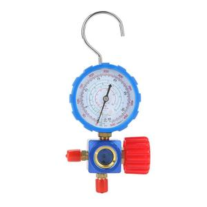 500PSI Refrigerant Manifold Gauge Manometer Valve Presure Gauge Air Condition Tool with Visual Mirror for R12 R502 R22 R410R134A(China)