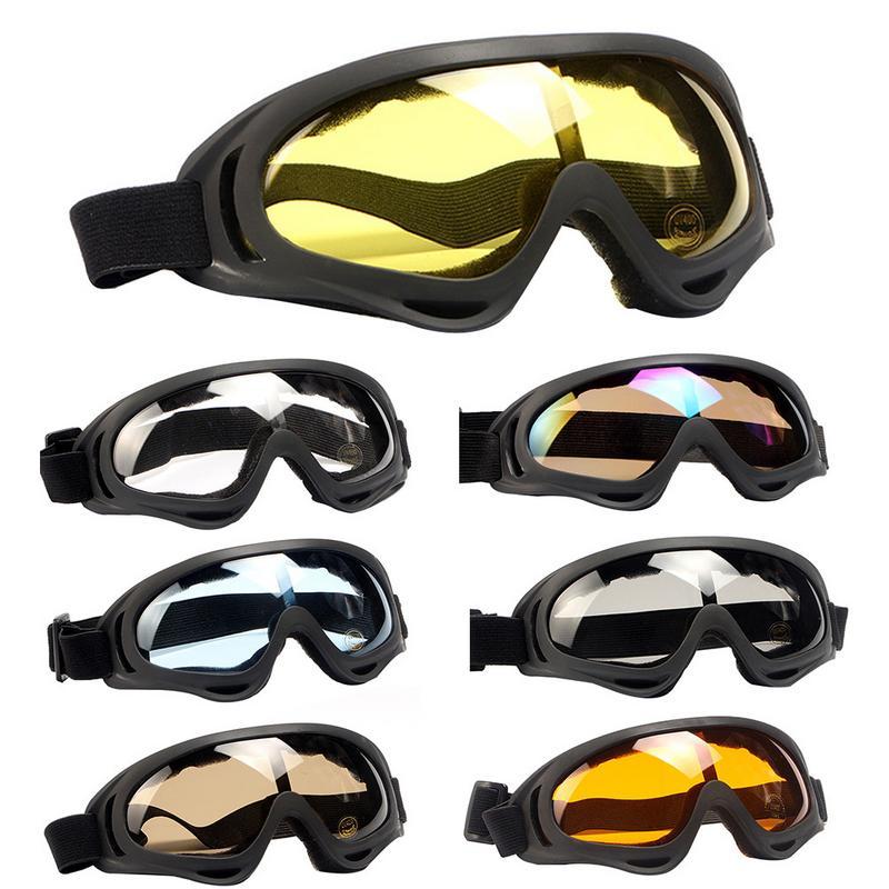 975147bfdf Colorido de esquí gafas de sol gafas Anti-viento parabrisas-país gafas de  invierno deporte al aire libre suministros