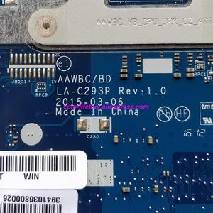 Image 5 - Подлинная 5B20J22920 AAWBC/BD LA C293P Вт E1 7010U материнская плата для ноутбука Lenovo B41 35