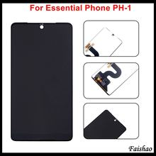 цена на Faishao 10pcs/lot Brand New Original For Essential Phone PH-1 5.7 LCD Display with Digitizer Touch Screen Assembly Replacement