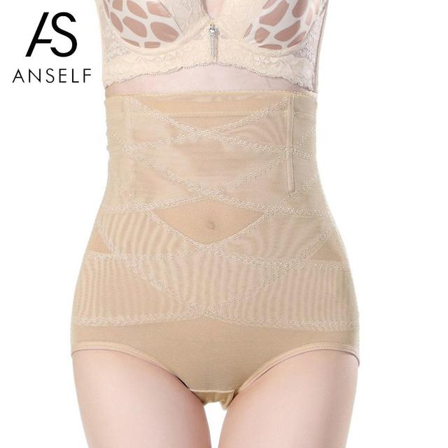 02dd50cc6 Anself Women Shapewear High Waist Tummy Control Body Shaper Seamless Underwear  Thong Panties Slimming Girdle Bodysuit Corset