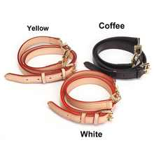 Bag Belts Adjustable Real Leather Replacement Shoulder Crossbody Long Handbag BagBand Women Girls Handbags Bag Purse Bag Strap(China)