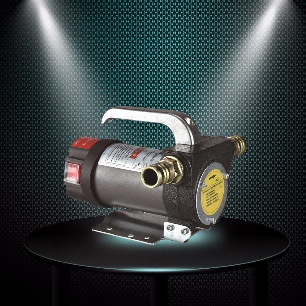 Bomba de óleo dc 12 v/24 v 300w 50l/min transmissão automática elétrica de alta velocidade bomba de engrenagem de sucção de óleo de transferência de combustível diesel