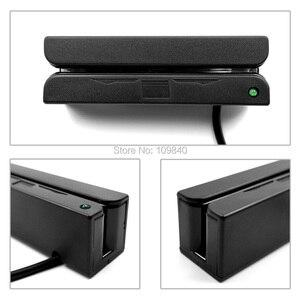 Image 3 - Lecteur de cartes à bandes magnétiques USB 3 pistes, Mini équipement financier, HICO LOCO, pour OS Windows