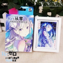 Anime Re:Zero Starting Life Playing Cards Gifts Deck Poker Set Cards With Box Gift Collection