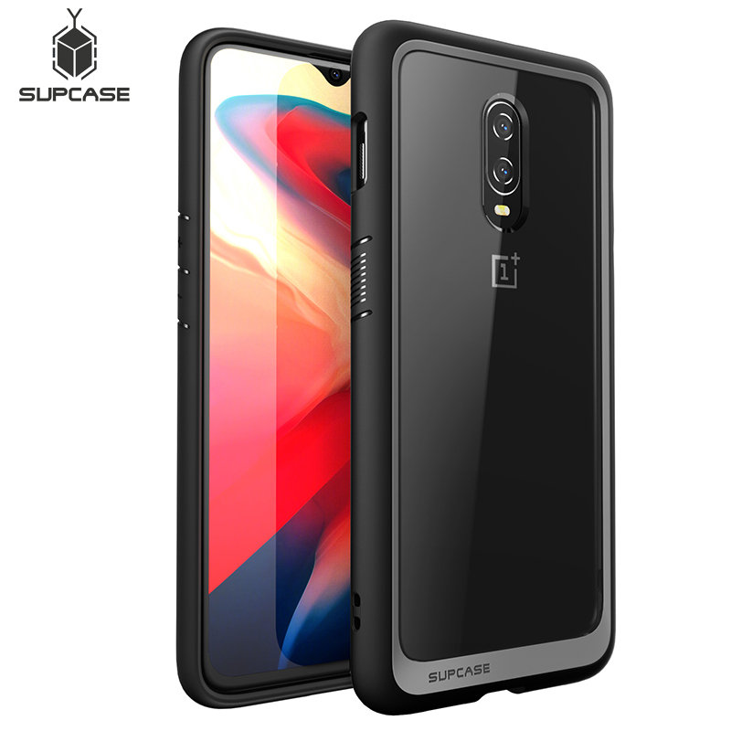 For One Plus 6T Case SUPCASE UB Style Series Anti-knock Premium Hybrid Protective TPU Bumper + PC Cover Case For OnePlus 6T
