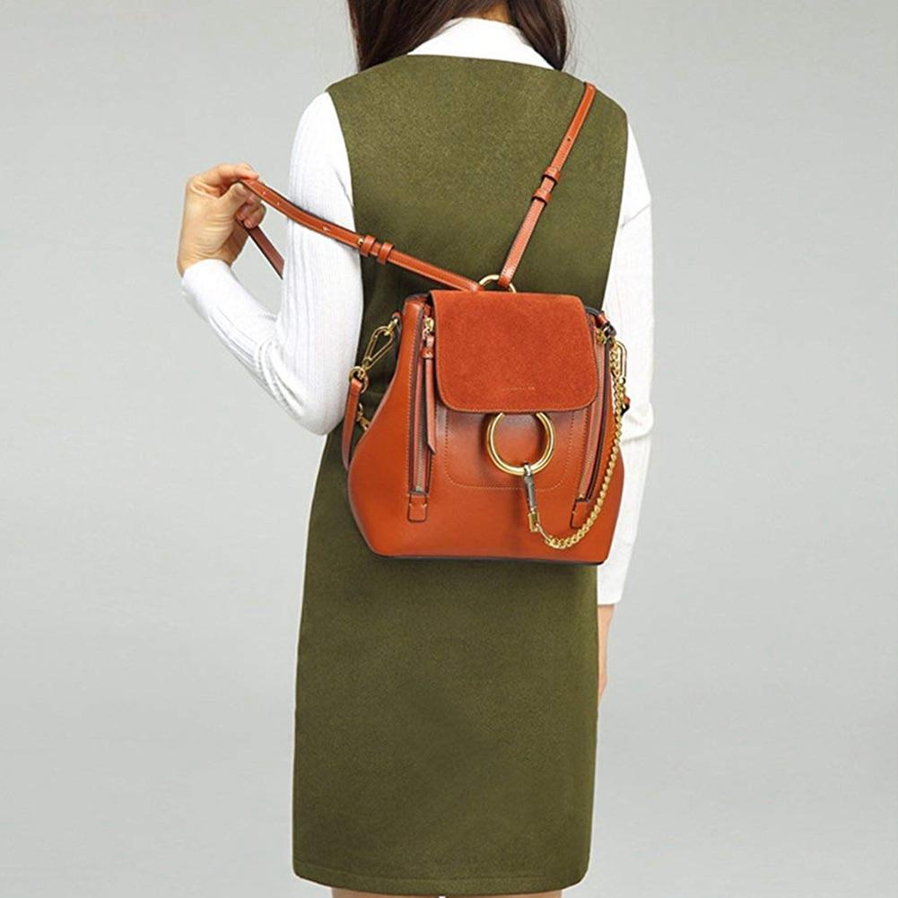 Femmes en cuir sacoche croix corps sac à dos en cuir PU utilisation universelle sac cadeau pour les filles