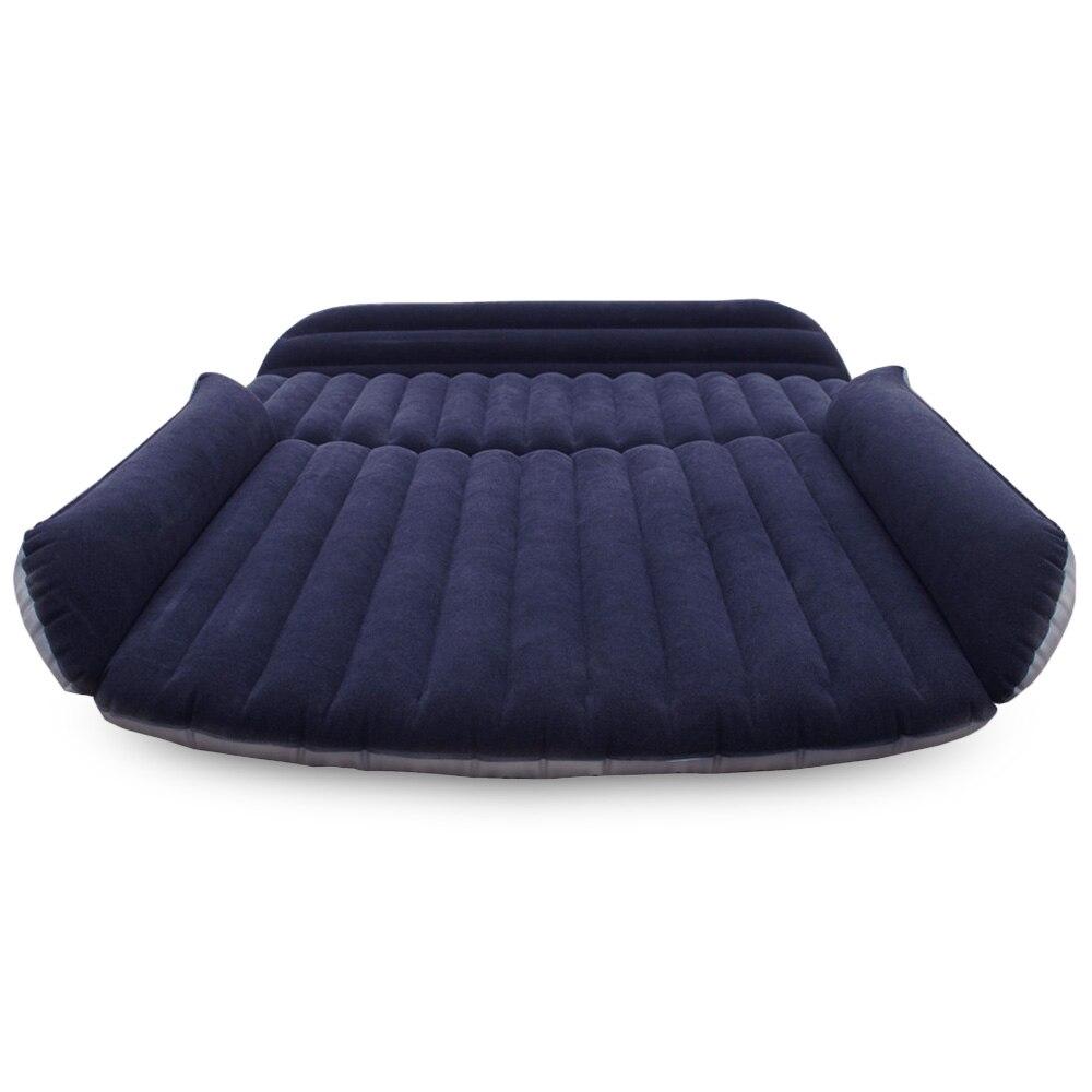Stick Reise Aufblasbare Auto Bett Suv Zurück Sitz Abdeckung Luft Matratze Camping Begleiter Beflockung Tuch Möbel