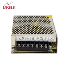Switching Power Net-50d 50W AC To DC 5V 24V 12V Supply DC Output Triple Output Enclosed Switching Power Supply 3A 1A 1A цена