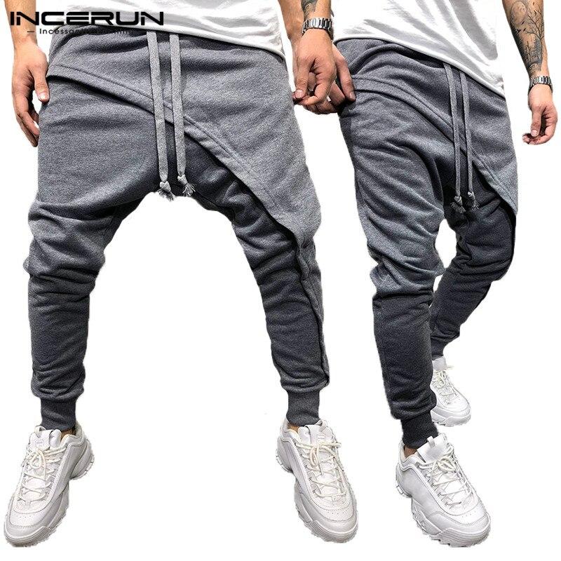 Harem Joggers Black De Amplia Pantalones Deportivos Deportivos Baile  Piernas Hiphop pantalones Elástico grey Hombre Puño IxXPZ 07a8fa0e636