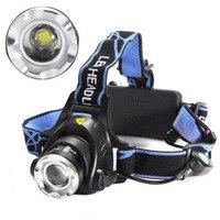 high power LED Aluminium Alloy Waterproof head Light T6 Flexible Zoom Headlights luminaria lamp headlamp torch flashlight