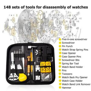 Image 3 - Набор инструментов для ремонта часов 148 шт./компл., профессиональные инструменты для ремонта часов, набор инструментов для ремонта часов