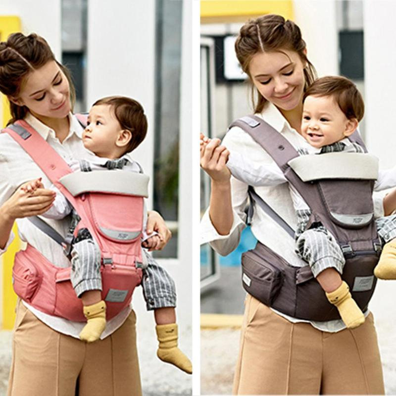 Backpacks & Carriers Motivated Ergonomic Baby Carrier Backpack Multifunctional 3 In 1 Baby Sling Breathable Hooded Kangaroo For 1 To 36m Infant Baby Backpack Mother & Kids