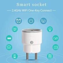 Smart Plug ЕС Поддержка Amazon Alexa Google Home  IFTTT Пульт дистанционного управления