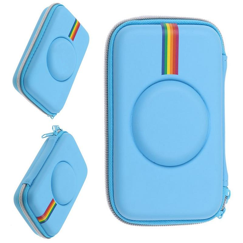 Neue Bunte Kamera Tasche Kopfhörer Schutzhülle Tasche Retro Schutzhülle Für Polaroid Snap Touch Instant Print Digital Kamera