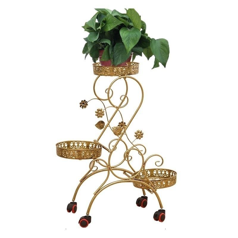 Decorative Metal Dekoru Sera Dekarosyon Mensole Per Fiori Afscherming Shelf Plant Stand Balkon Balcony Flower Iron