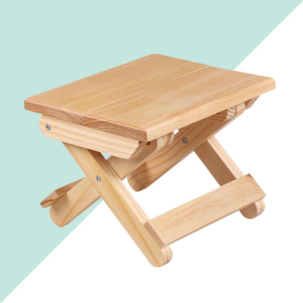 Шт. 1 шт. легкий творчески бытовой портативный деревянный складной стул для рыбалка кемпинг открытый путешествия Pinic