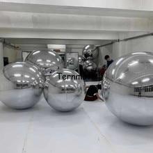 5 цветов зеркальный шоу шар отражающий гигантский надувной зеркальный шар Лидер продаж гигантский надувной шар для рекламы