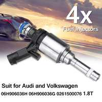 Metal Fuel Injector For Bosch/Audi Passat/Volkswagen 06H906036H 06H906036G 1.8T Gen Auto Replacement Parts 8.7x4.4cm