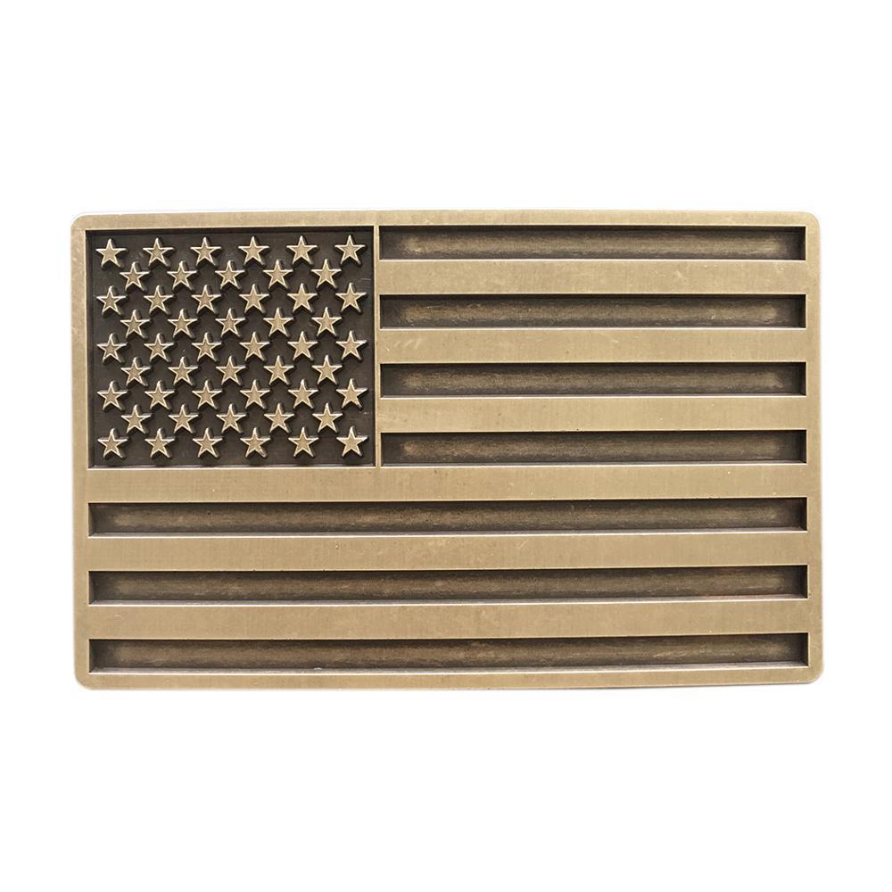 Mens Belt Buckle New Vintage American USA Flag Rectangle Belt Buckle Gurtelschnalle Boucle De Ceinture BUCKLE-FG028AB