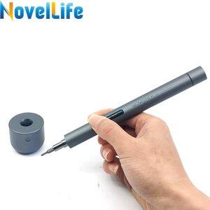 Image 4 - Wowstick 1F Pro Mini Cacciavite Elettrico Ricaricabile Cordless Power Screw Driver Kit con la Luce del LED Batteria Al Litio Operato