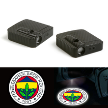 Courtesy Fit For Fenerbahce SK Football Club LED Car Logo Door Ghost Shadow Laser Light 12v