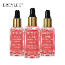 Breylee Rose Nourishing Serum Face Facial Deep Hydrating Skin Care Oil-control Whitening Soothing Anti-aging Wrinkle Beauty 3pcs ogx nourishing coconut oil weightless hydrating oil mist