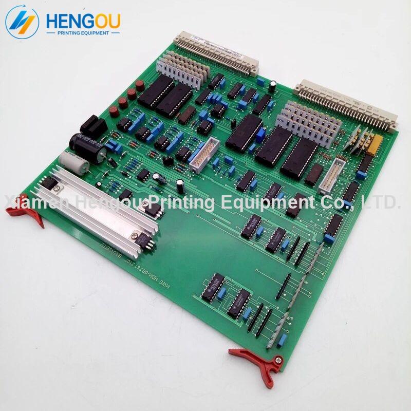 Livraison gratuite offset MWE carte MWE CD102 SM102 CPC encre compatible ADC carte d'échantillonnage 81.186.5385 00.781.2107