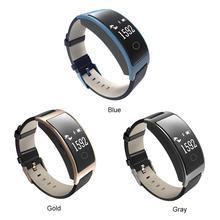 CK11S Smart Bracelet Heart Rate Blood Pressure Oxygen Monitoring Step Calories Waterproof Sports Ring
