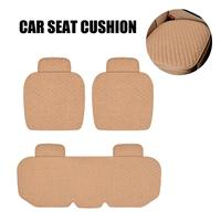 Car Seat PU Leather Cover Breathable Universal Auto Protector Front Rear Chair Cushion Kit Automobiles Mat Interior Accessories