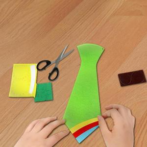 الإبداعية الحرف DIY العلاقات الاطفال اليدوية الألعاب التعليمية الآباء اليوم هدية التعليمية لعب الاطفال DIY ورأى حرفة النسيج