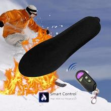 Winter Smart Remote Control Heating Rechargeable Electronic Insole Warm Insole Electric Heated Insole with Remote Control