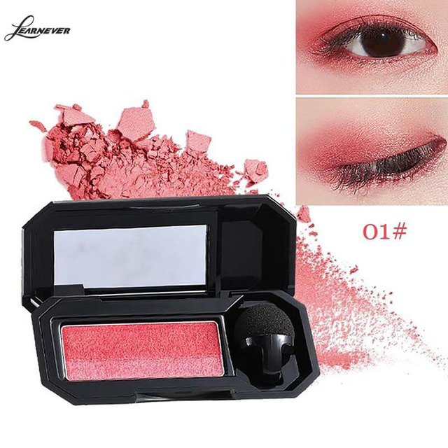 Professional Brand Eyeshadow Pallete Two Color Waterproof Pigment Double Color Shimmer Nude Eyeshadow Makeup Palette