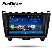 """Funrover Autoradio Multimedia player 9 """"Android 8.0 2 din DVD Per MAZDA 6 Mazda6 2008-2015 GPS navigazione stereo autoradio audio"""