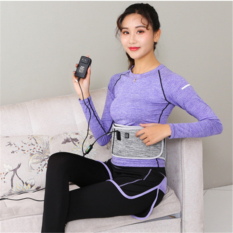 Electrothermal Waist Protect Belt Moxibustion Hot Compress Band Uterine Lumbar Vertebrae Warm Belt Health Care K302OLB treatment injury keep warm prevention men health care waist belt function lumbar brace