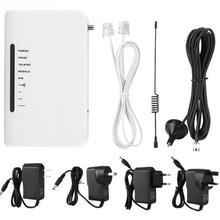 Мировой светодиодный фиксированный беспроводной терминал четырехдиапазонный GSM 850/900/1800/1900MHz сигнализация AU 100-240V