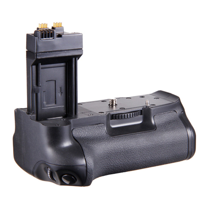 Hot TTKK Vertical Camera <font><b>Battery</b></font> <font><b>Grip</b></font> Pack For <font><b>Canon</b></font> Eos 550D 600D <font><b>650D</b></font> T4I T3I T2I As Bg-E8 Fashion Design Bettery <font><b>Grip</b></font> image