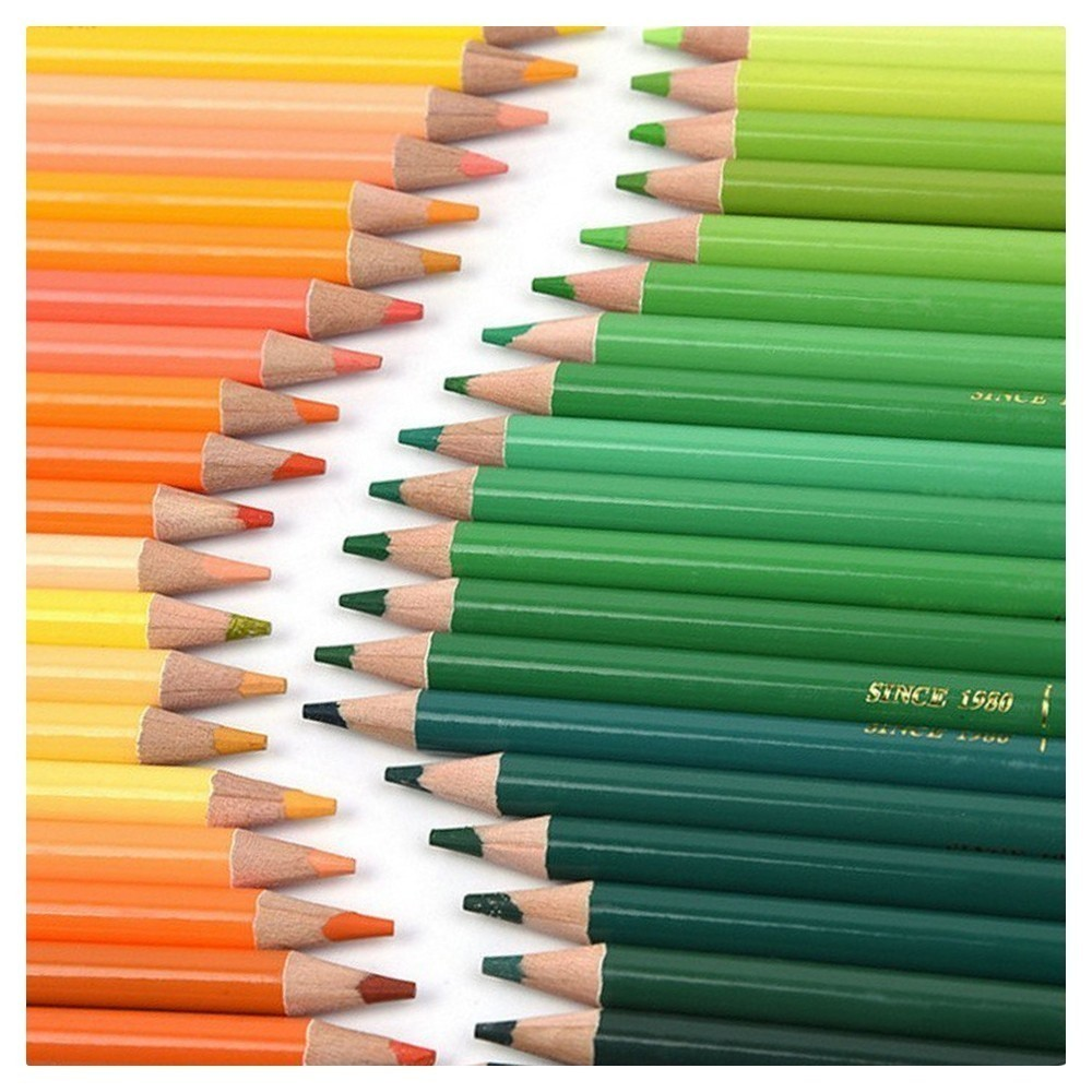150 color NEW water-soluble color pencil school supplies practical environmental pencil protection футболка puma футболка softsport graphic layer tee