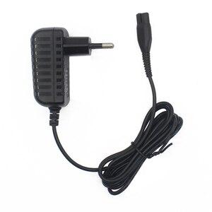 Image 1 - Fiş kurşun pil şarj cihazı aşırı şarj koruması adaptör güç kaynağı uygun siyah WV elektrikli süpürgeler