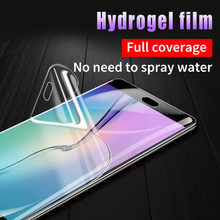 20D Soft Full Cover Screen Protector Hydrogel Membrane Film for Samsung S9 S8 S10 S6 S7 plus edge note 5 8 9 A5 Film Not Glass(China)