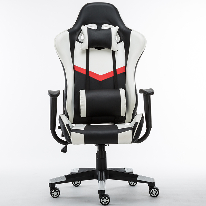 Minimalism Computer Chair E cafe Competition Chair Bow Shaped Racing Chair|Office Chairs|Furniture - title=